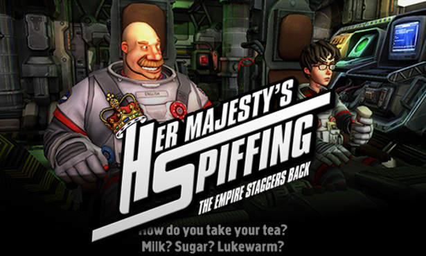 Her Majestys SPIFFING point and click now on Kickstarter