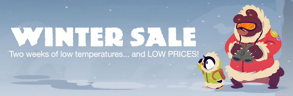 Humble Store Winter sale with deals for Linux