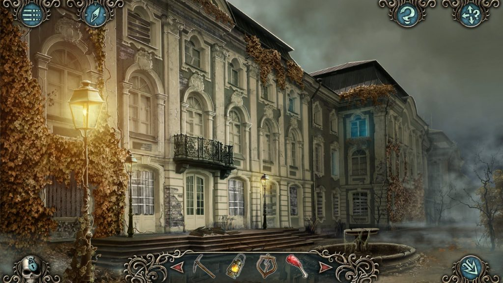 cursed hidden object horror adventure game screenshot 01
