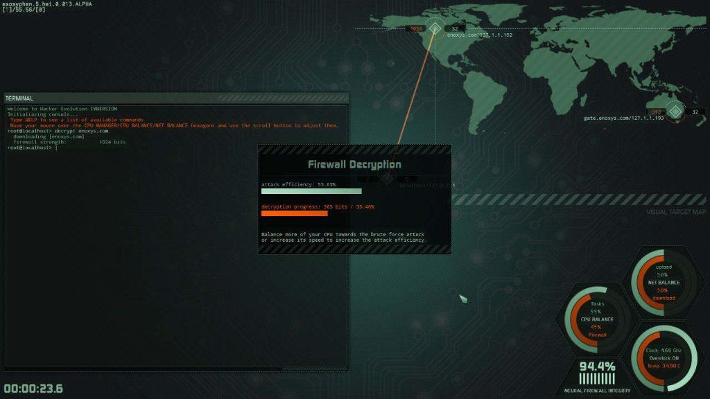 Hacker Evolution IMMERSION linux mac pc screenshot 02