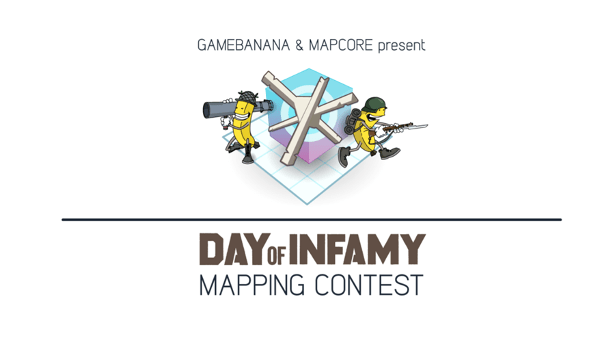 Day of Infamy livestream of new map contest entries this Sunday