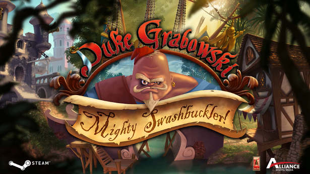 Duke Grabowski Mighty Swashbuckler point-and-click adventure coming October 6th