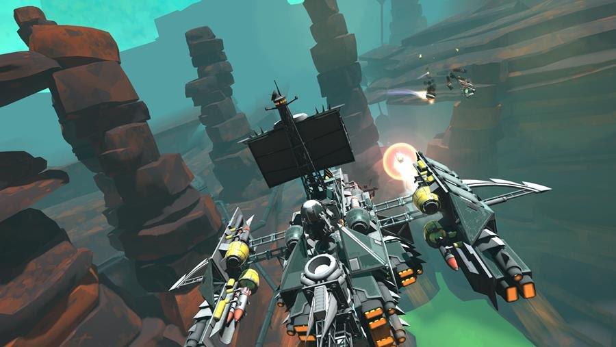 galactic junk league sandbox building space combat screenshot 01