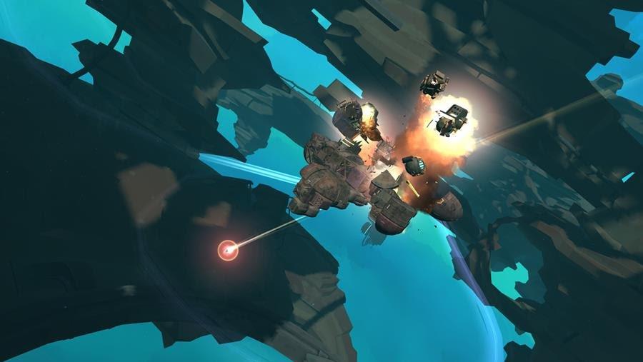galactic junk league sandbox building space combat screenshot 02
