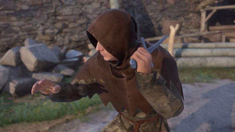 kingdom come deliverance first-person rpg new weapons screenshot