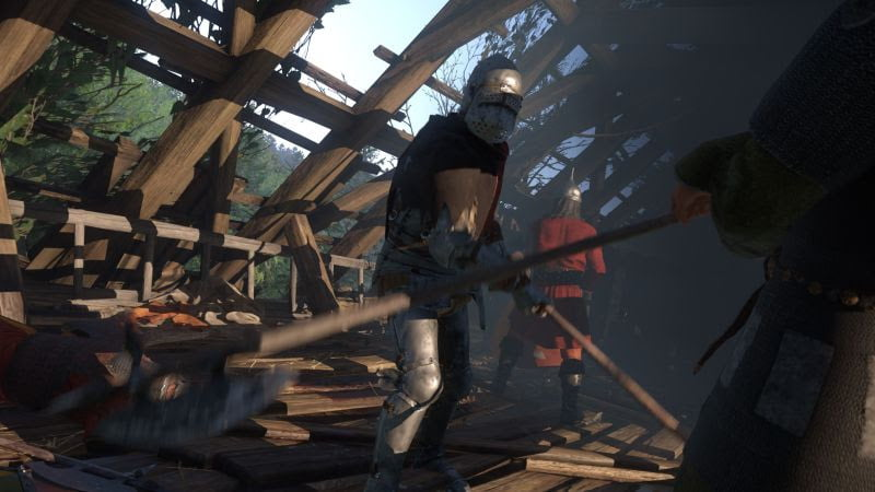 kingdom come deliverance first-person rpg new weapons and armor screenshot