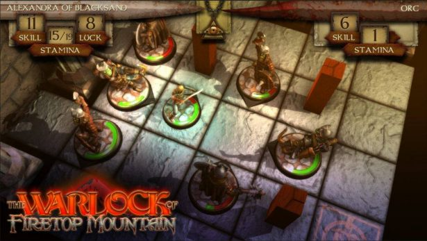 the warlock of firetop mountain coming to linux games
