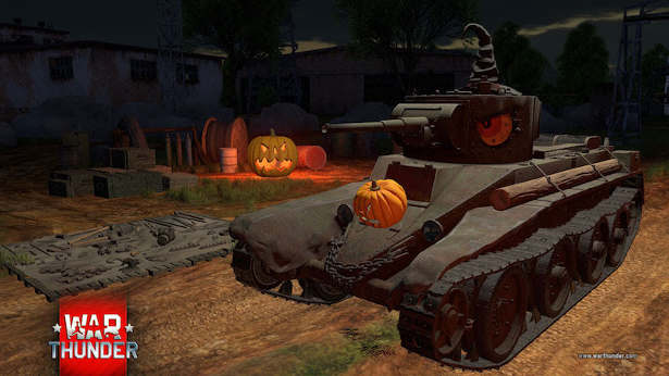War Thunder racing events, store discounts and Halloween for linux mac pc