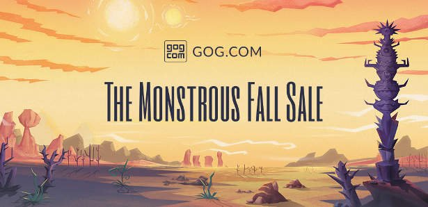 Monstrous Fall Sale launches on GOG for Linux, Mac, PC