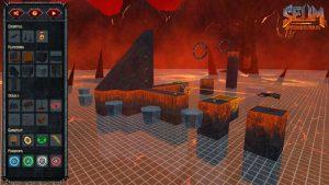 SEUM: Speedrunners from Hell level editor screenshot