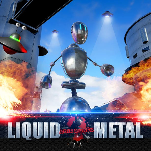 liquid metal 3D platformer adventure hits kickstarter linux mac pc