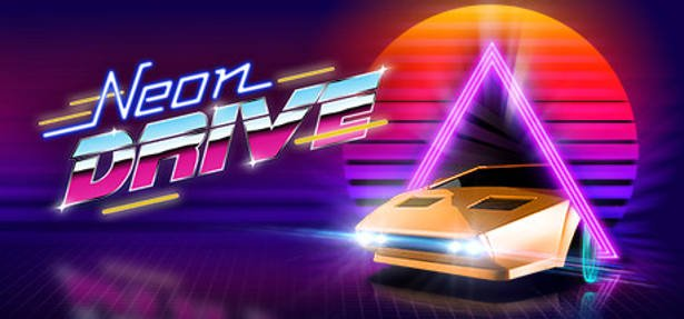 Neon Drive the rhythm based obstacle-dodging now on Linux