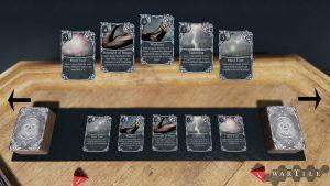 wartile screenshot tacitcal cards