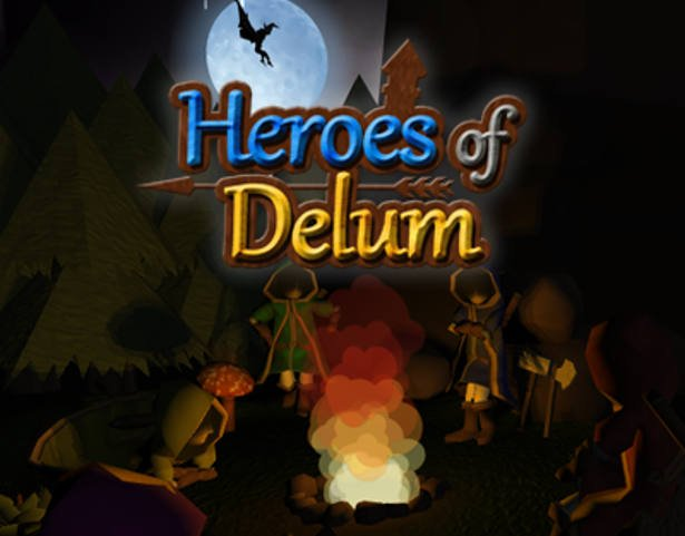 heroes of delum real-time strategy in greenlight for linux