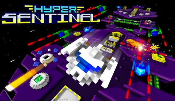 hyper sentinel arcade shoot em up launches on linux mac windows
