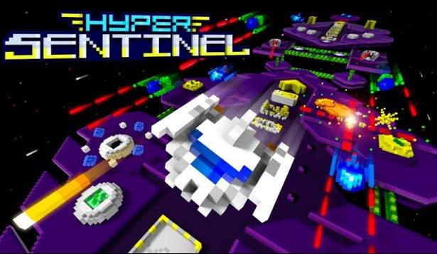 Hyper Sentinel arcade shoot 'em up on Kickstarter with Linux demo