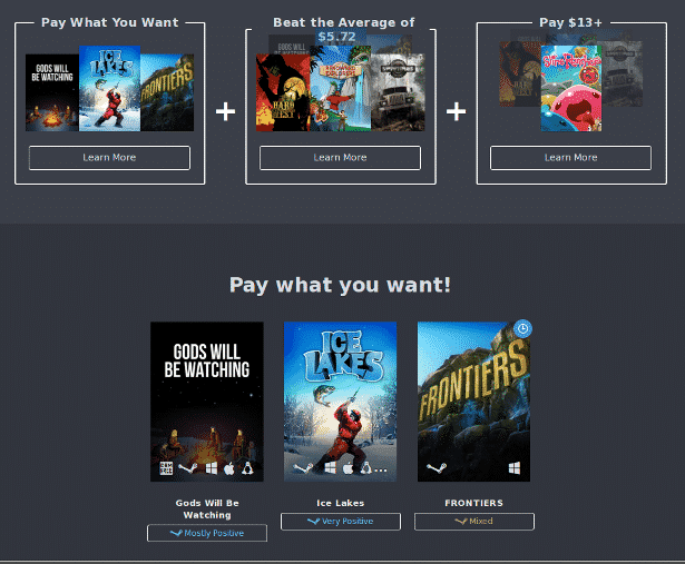 humble wild frontier bundle linux mac windows pc