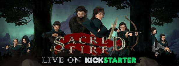 Sacred Fire psychological RPG looking for votes on Kickstarter