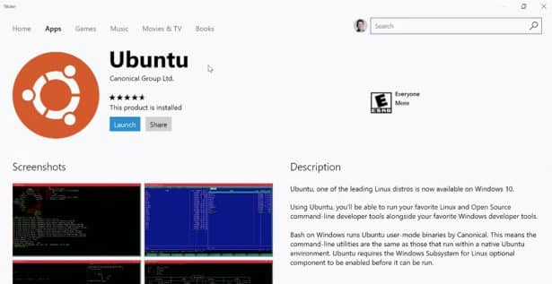 the windows store from microsoft is getting linux distros in gaming news