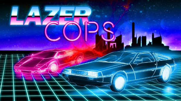 Lazer Cops bullet hell action releases on Steam
