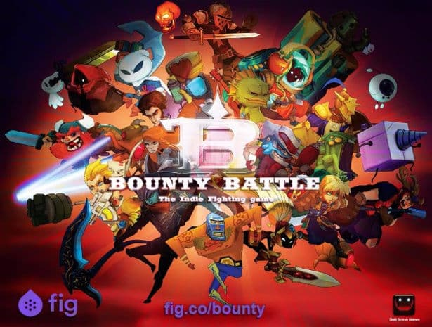 Bounty Battle fighting game live on Fig (Linux)