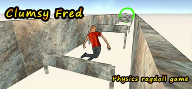 clumsy fred hilarious ragdoll physics on in linux mac windws games