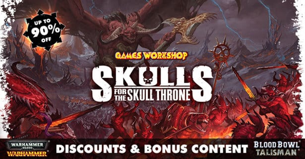 Skulls for the Skull Throne sale now on Steam