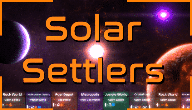 Solar Settlers card-driven strategy launches