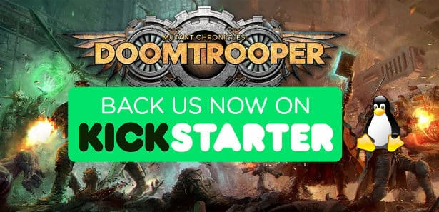 doomtrooper to have linux and ubuntu support via the games stretch goal
