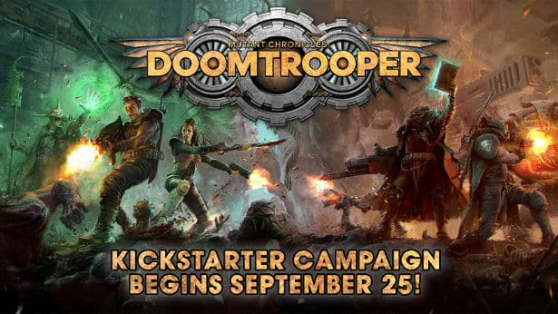 Doomtrooper to hit Kickstarter September 25th