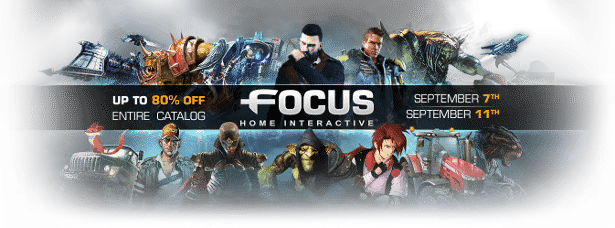 focus home interactive games publisher weekend sale linux ubuntu mac windows pc
