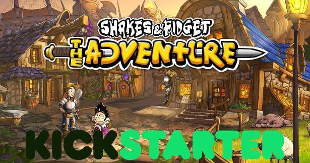 Shakes & Fidget – The Adventure hits Kickstarter