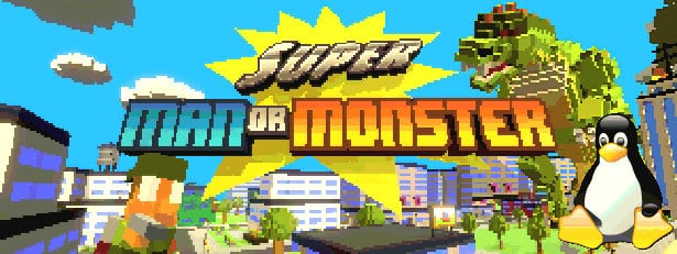 super man or monster action coming to linux beside windows games 2017