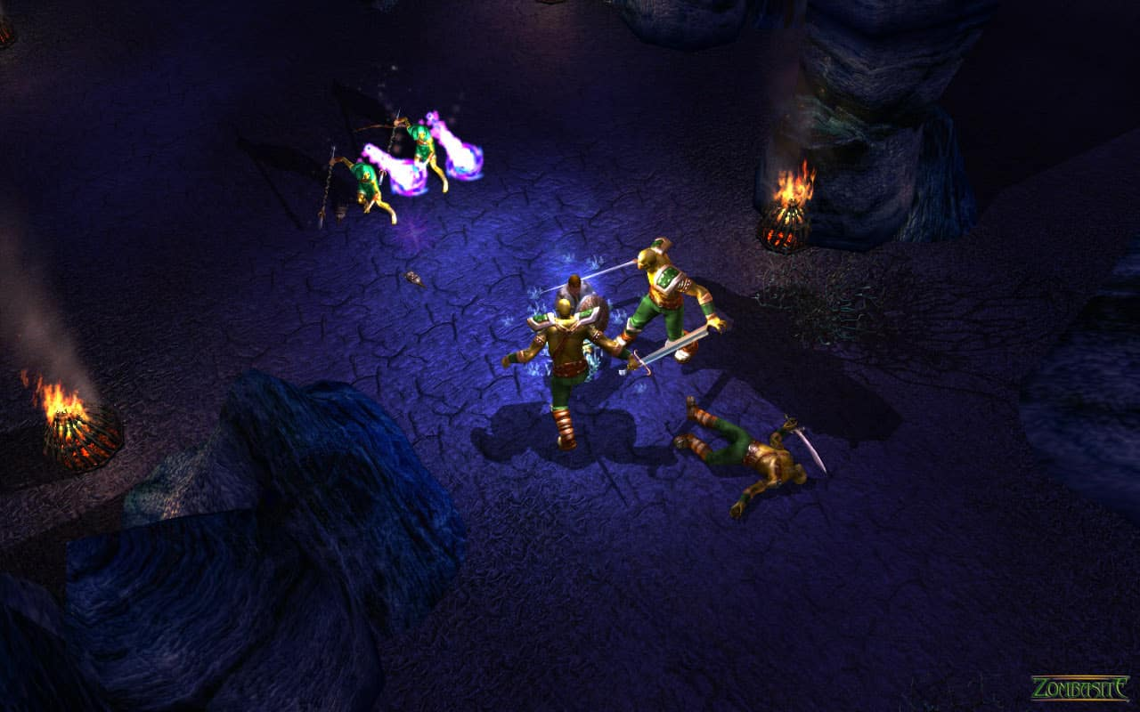 zombasite orc schism screenshot dark orc warlocks