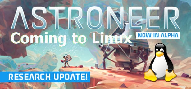 astroneer to get a linux release in 12 2018 via steam