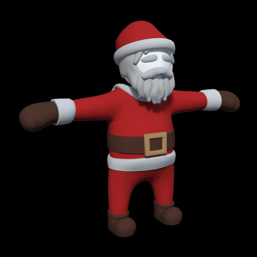 Human Fall Flat will have new multiplayer lobby ubuntu linux mac windows santa skin