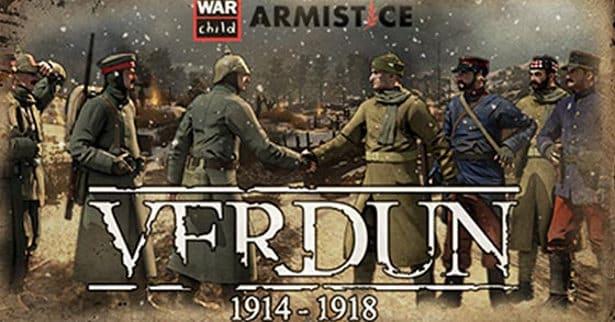 Verdun Christmas Truce and War Child charity