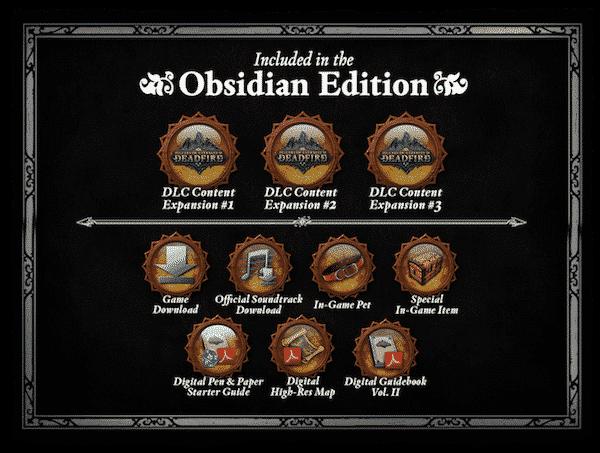 pillars of eternity ii deadfire obsidian edition includes linux mac windows