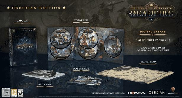 pillars of eternity ii deadfire obsidian-edition-retail linux mac windows