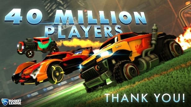 Rocket League now has 40 million players