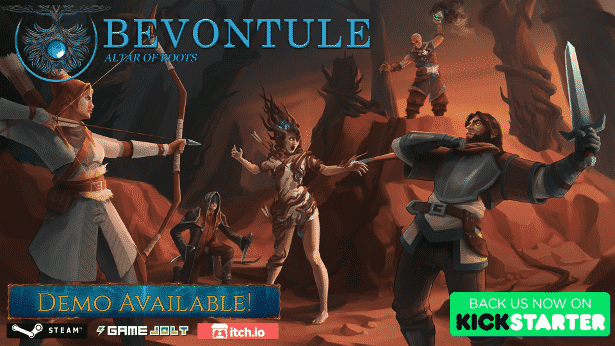 bevontule altar of roots hits kickstarter games for linux mac windows