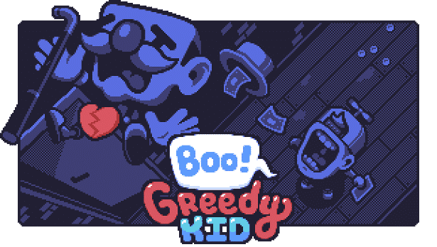 boo! greedy kid 2d puzzle action games now on steam for linux mac windows