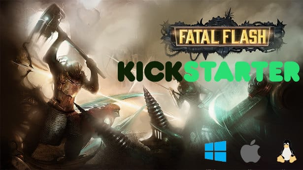 fatal flash competitive brawler hits kickstarter for linux mac windows games