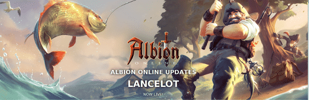 Albion Online Lancelot releases with Fishing
