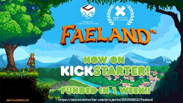 faeland metroidvania doing well on kickstarter for linux mac windows games