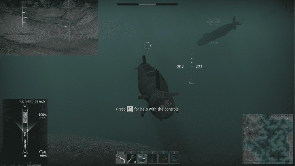 silent thunder linux screenshot in games