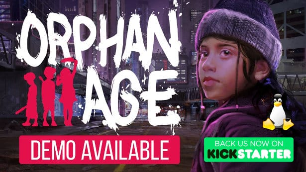 orphan age dystopian life sim on kickstarter for linux mac windows