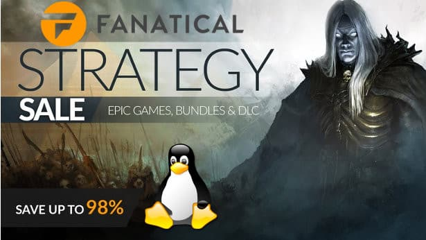 fanatical's strategy sale comes with huge discounts for linux mac windows