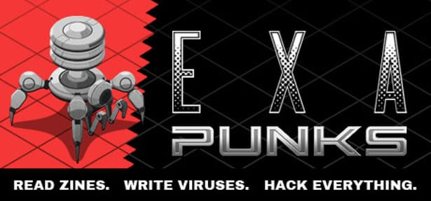 EXAPUNKS simulation puzzle coming this month
