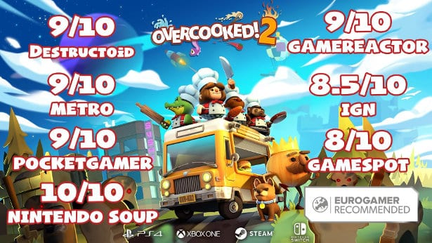 overcooked 2 now officially available on steam for linux mac windows